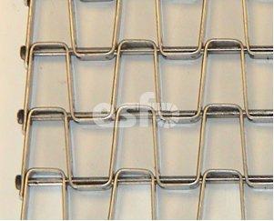 HO-KK honigraatband met gelaste kanten
