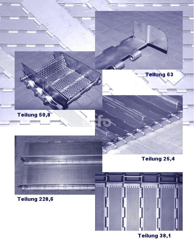 Beispiele SC Scharnierplattenbänder