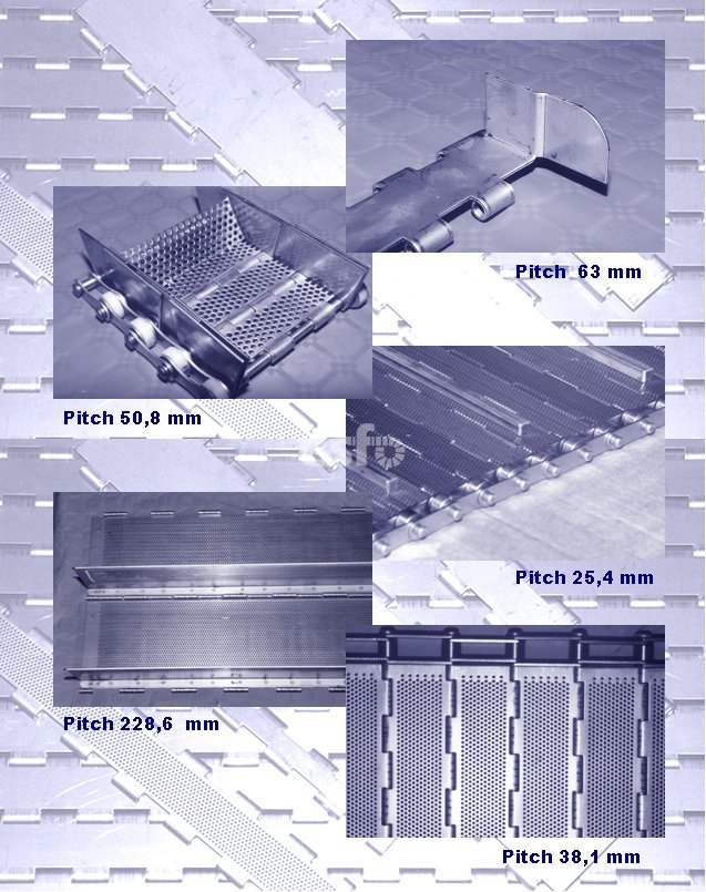 examples SC Link Plate Belt