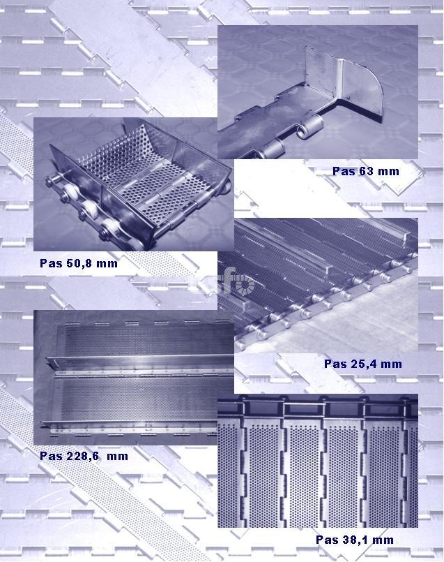 exemples SC bande à plaques articulées